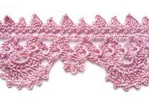 crochet boarders.