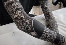 leg tatoo