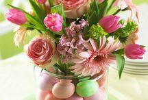 paas bloemstukken