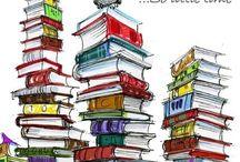 Books, Books & Books / by Kathy Hanara