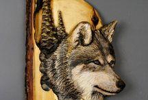 tallados en madera