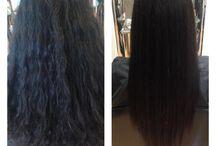 Alisamento a laser / Para um cabelo 100% liso, sem ser necessário o uso do secador, aconselhamos o nosso alisamento a laser! Prometemos fios intensamente macios, volume reduzido, e eliminação total do frizz com uma durabilidade de 6 a 8 meses. Venha experimentar em Oeiras, Lisboa!