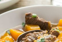 Beef sweet potato casserole