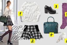Copy the #look / Las últimas tendencias por #CaraDelevingne, #AlexaChung y #TaylorSwift #OOTD / by El Corte Inglés