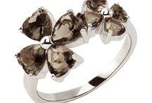 """Bijoux Nina Ricci """"Aubépine"""" / Bijoux Nina Ricci """"Aubépine"""" : des bijoux en argent rhodié ou plaqué or de la célèbre marque haute couture.  http://www.bijouterie-influences.com/search.php?search_query=aub%C3%A9pine"""