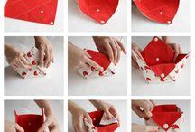 textil dobozka