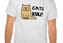 Funny Cat T-Shirts and Gifts / Uniquely designed cat t-shirts and gifts.For all cat lovers of the world!