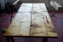 Tables from reclaimed wood / Hand made tables from reclaimed wood and pallets