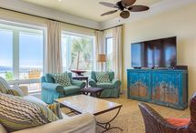 Bright and Beachy / The name says it all. These cheerful retreats will keep your mood sunny, even on one of the Gulf's rare rainy days.