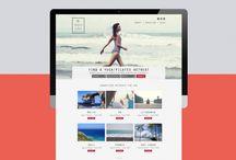 Website presentation for Retreats I love / Retreats I Love Branding by http://www.80design.co.uk