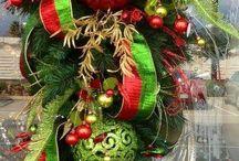 adornos de Navidad para puertas