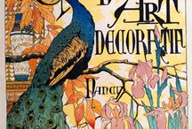 """Mucha et l' Art Nouveau / Alfons Maria Mucha (1860-1939) Peintre, illustrateur & décorateur tchèque considéré comme le maître du mouvement """"Art Nouveau""""."""