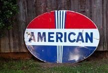 Americana #landofthefree / We love Americana! #prherbfarm #americanadecor #rootsmusic #handpainted  #folkart #outsiderart #rootsalongtheriver #foxfire #gardenandgun