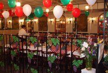 Italian themed mid-xmas party
