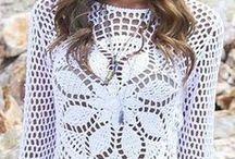 blusas chales vestidos