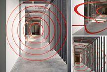 Mødelokaler / Illusioner, Anamorfic illusion