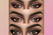 The sims 4 - Makeup