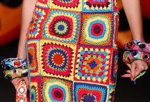 crochet granny square / Идеи вязания бабушкиного квадрата