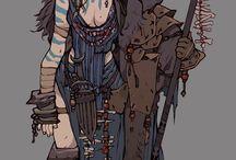 characters warrior