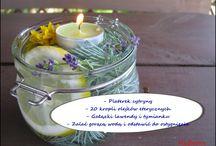 Świeczniki domowe / Domowe dekoracyjne świeczniki wykonane różnymi metodami