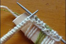 Knitting stich and technique
