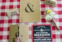 Wedding Printed material