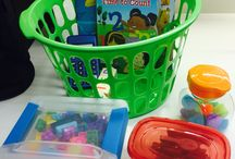 How to keep little ones entertained while at an appointment. / Fun, fast activities for children...
