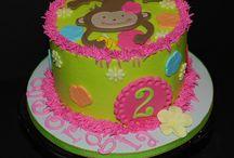 Birthday cakes (girl)