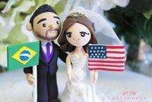 Bi-national couple ideas / Relacion a distancia, international marriage