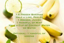 smoothies / jus de fuits , legumes