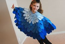 Bird Costumes / At any time of year, these bird costumes are the perfect way to exercise your #imagination. Kids will love them and the kid in you will love them even more!