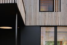 Timber Cladding / Back of the house - mono tone