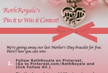 RothRoyale's Jewelry / hashtag#RothRoyale giveaway  / by Linda Cabrnoch