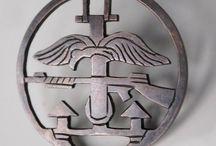 Dingen om te kopen / insignes van de Beste Commandos en Parachutisten: polish commandos badges(combined operations commando)
