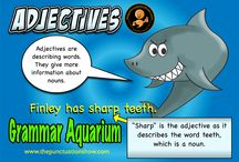 Grammar / Posters that can be used to help pupils understand grammar.  Download high res copies free at www.thepunctuationshow.com