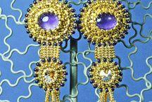 Beaded earrings 2