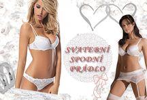 Svatební spodní prádlo / Krásné svatební spodní prádlo pro nevšední den.