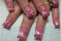 Valentine's Nails / by Angela Rose