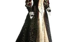 старинные платья