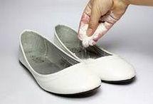 tirar cheiro do sapato
