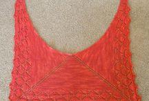Xales de tricô - Shawl