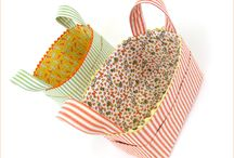 Fabric Baskets/Storage / by Joyce Mustoe