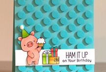 Coolest Critter Cards / A collection of the cutest critter cards from around the web.