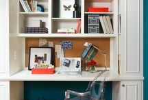 Craft Room + Home Office / Craft room and home office inspiration and storage ideas - For discounted craft supplies check out Blitsy and use my referral code when you sign up for further discounts!   http://blitsy.com/ref/6961mg