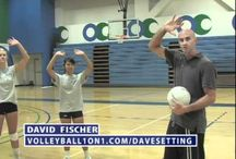 Middle School Health and Physical Education: (Volleyball) / Board on techniques used in Volleyball such as spiking, setting, passing and movement around the court.