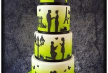 свадебный с силуэтами