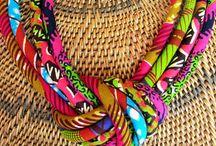 Ankara necklaces