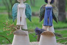 Садовые ангелы