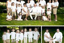 large family portrait ideas / by Chelsea Forsythe