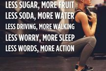 Fitness and lifestyle